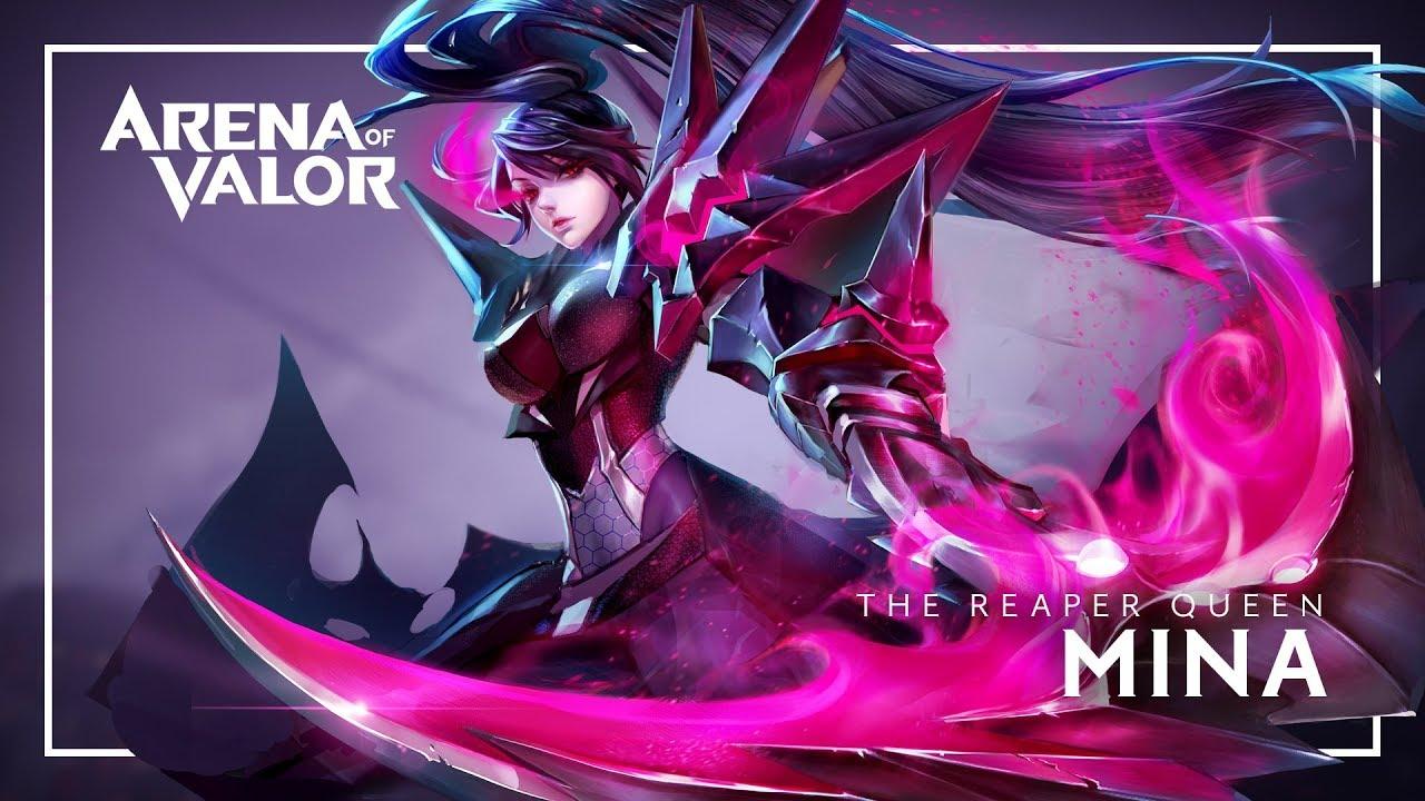 Arena Of Valor: Best Hero Build MINA Gameplay - YouTube