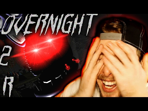 Overnight 2: Reboot Demo Gameplay! | BONNIE IS SO PERSISTENT! - FNAF Free Roam Horror Game - Part 1