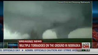 Multiple Tornadoes Smash and Sweep All Over Nebraska