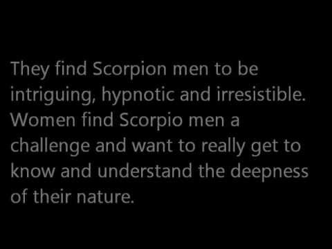 What attracts a scorpio male
