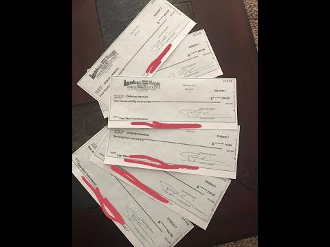 American BIll Money Review Payment Proof Multiple Checks Bei
