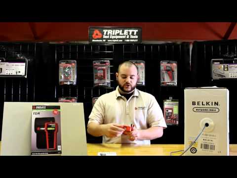 Triplett Test Equipment & Tools - TDR PN: 3271 -  Demo Video