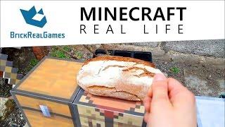 Minecraft Real Life - How to Make Bread - BrickRealGames