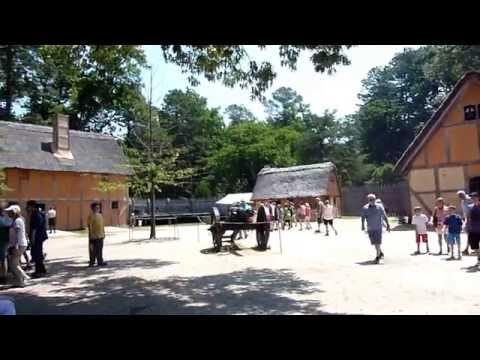 Jamestown settlement, virginia, usa