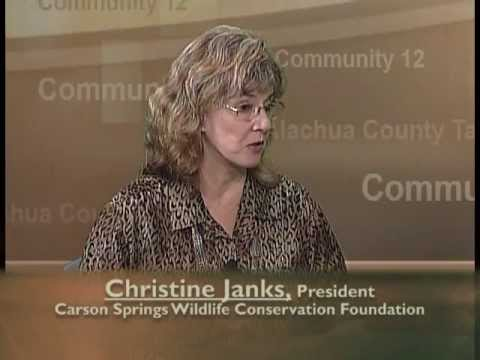 Alachua County Talks - Carson Springs Wildlife Conservation Foundation