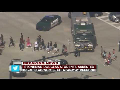 3 Marjory Stoneman Douglas High School students arrested