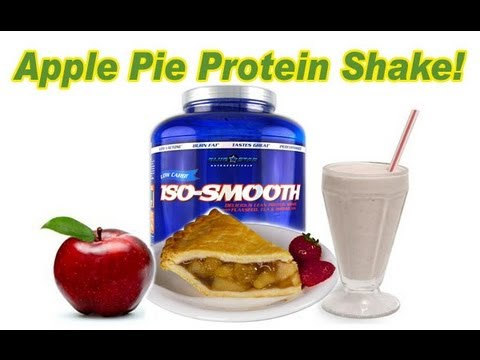 Try This Apple Pie PROTEIN SHAKE Recipe!