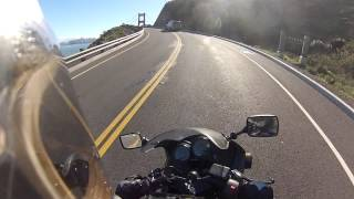 Motorcycle Ride: Stinson Beach to Marin Headlands