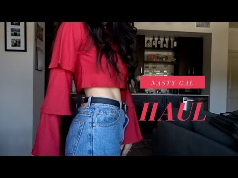 HUGE Nasty Gal TRY ON HAUL (Fall 2017 Fashion Trends)