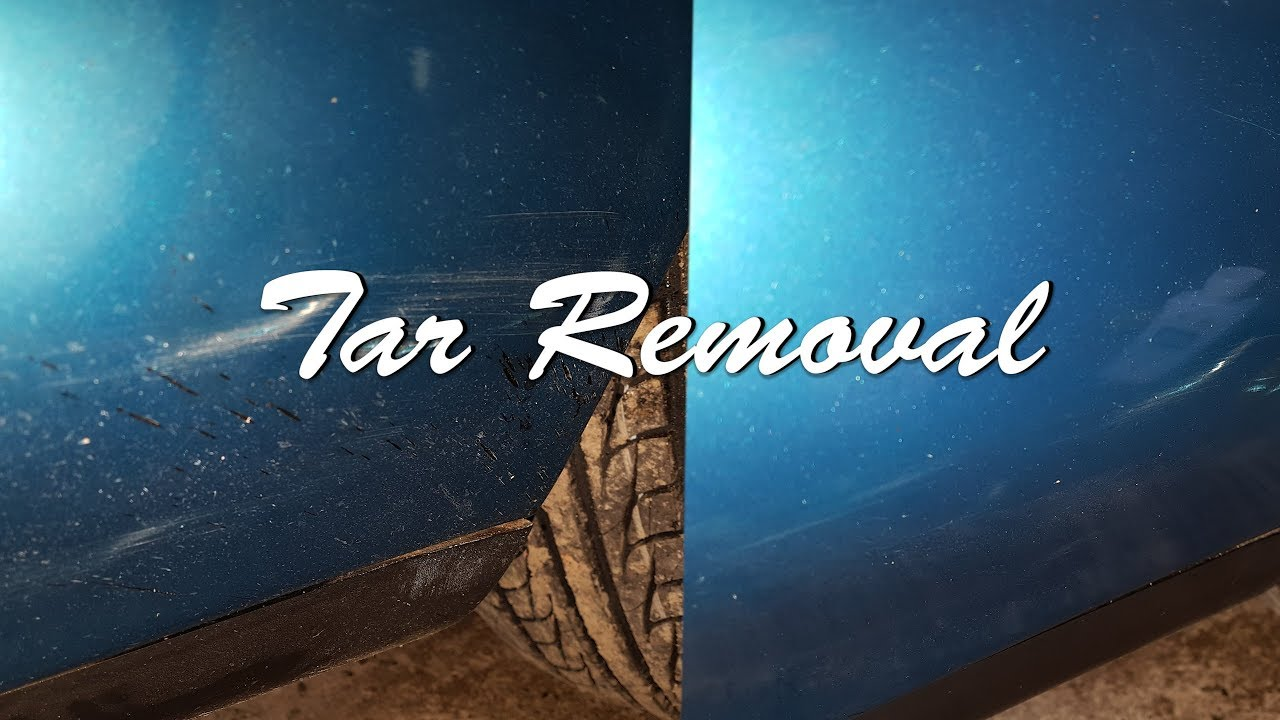 How To Get Tar Off Car >> Removing Stubborn Tar Off Your Car Car Problems Episode Four