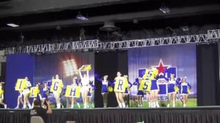 2017 UIL Cheerleader Spirit Championship - Corsicana High School