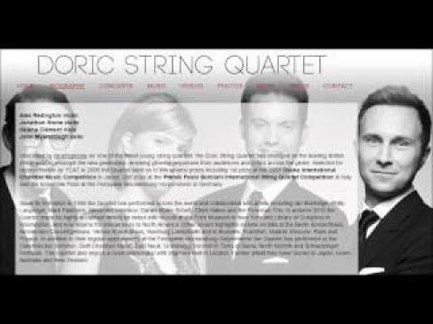 Thomas Adès: The Four Quarters, for string quartet, op. 28 (2010)