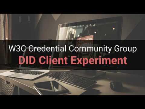 Decentralized Identifier (DID) Client Demo