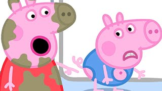 Peppa Pig Full Episodes  Georges New Clothes  Cartoons For Children
