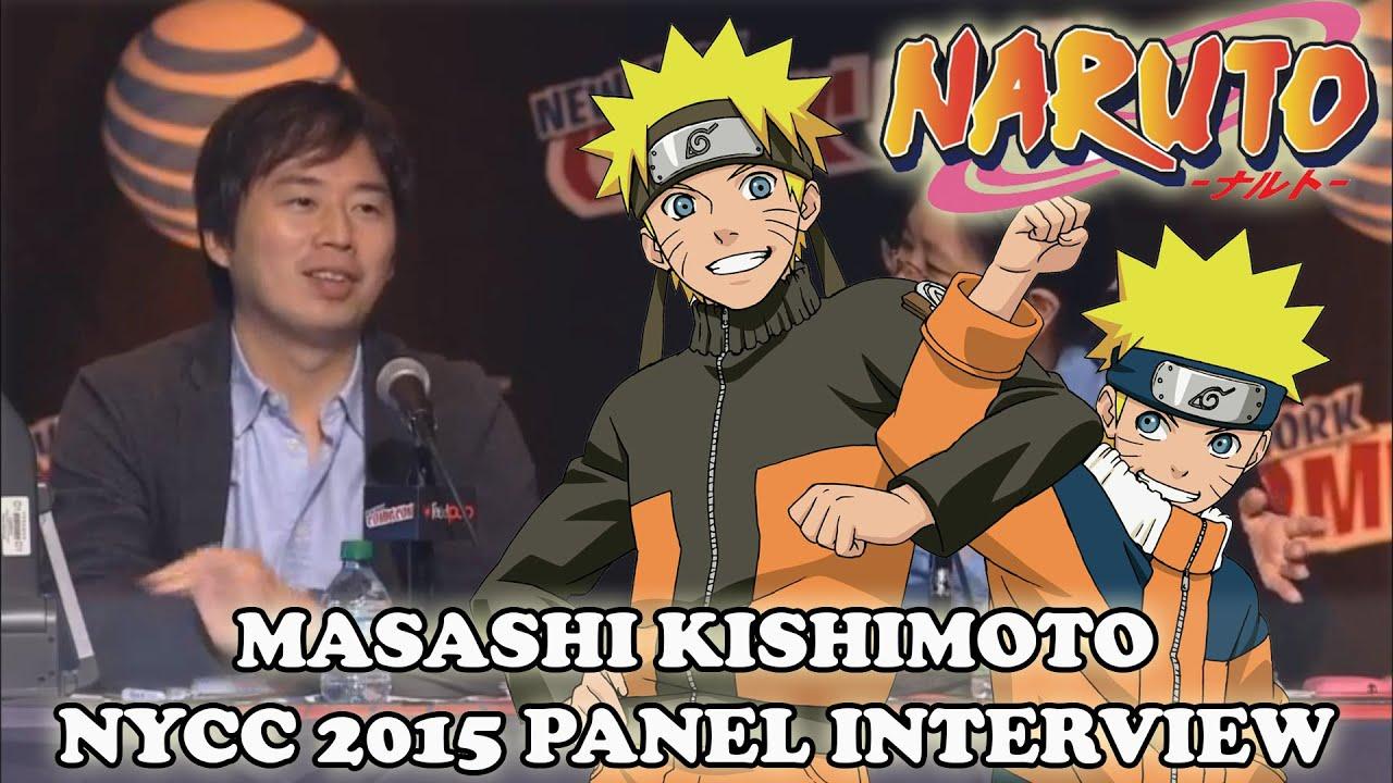 Masashi Kishimoto Interview 2015 English Naruto NYCC Panel