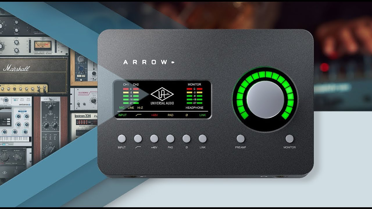 Create Something New  Introducing Arrow Thunderbolt 3 Audio Interface