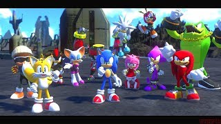 Sonic Forces 100% Red Rings - Playthrough - Part 5 [Stages 25-30] - Final Boss + Ending
