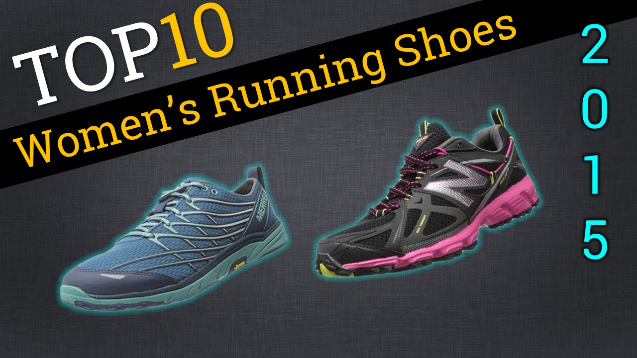 Top 10 Women's Running Shoes 2015 | Trails & Concrete - YouTube