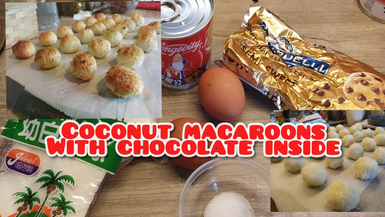 Coconut macaroons ll once upon a chef RACS - YouTube