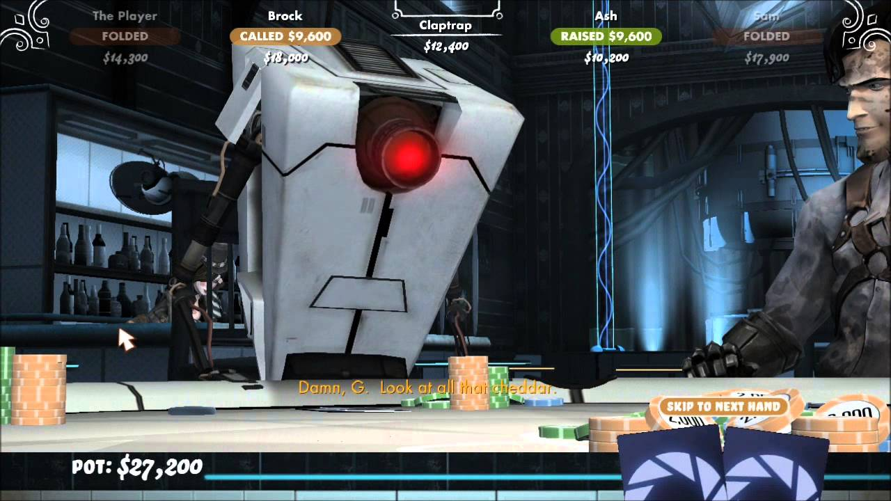 Poker night 2 glados item how to beat maniac poker players