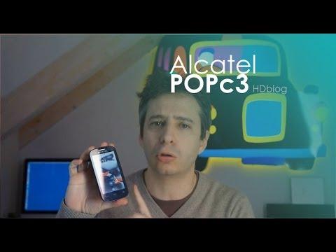 Alcatel POP C3: la videorecensione di HDblog.it