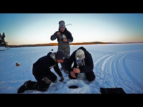My BEST Day Ice Fishing!!!