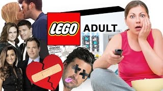LEGO Adult - TV 'SHIPPERS' SURVIVAL KIT (funny playsets for grownups)