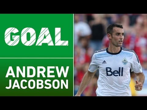 GOAL: Andrew Jacobson drills one for Whitecaps FC lead!