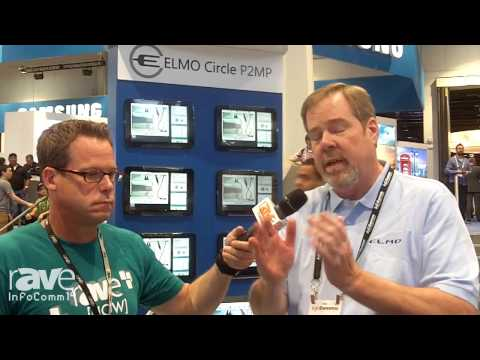 InfoComm 2014: Gary Interviews Elmo About the Circle P2MP Technology for Education
