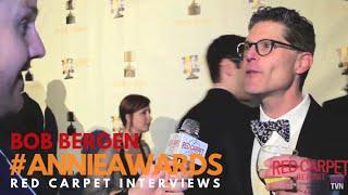 Bob Bergen #PorkyPig voice actor at the 43rd Annual Annie Awards #ANNIEAwards #AwardSeason