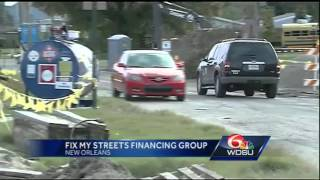 New Orleans mayor announces Fix My Streets financing group