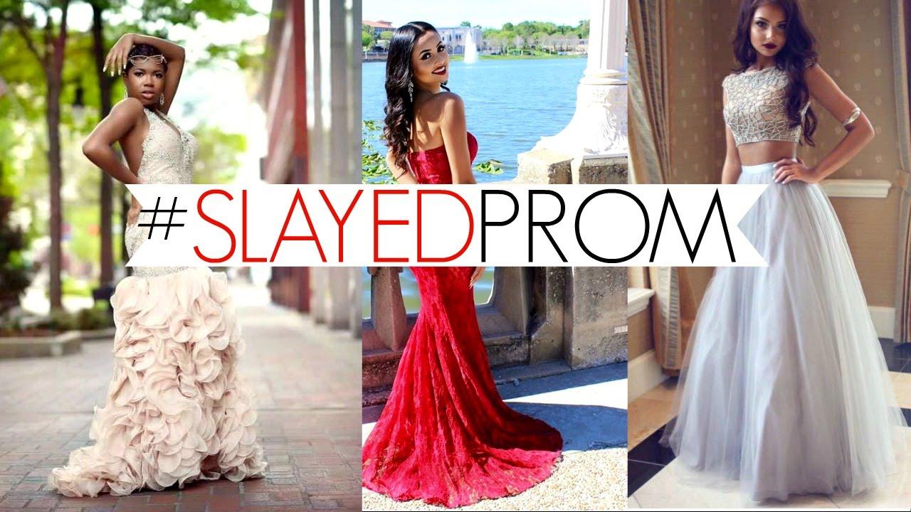 Slaying Prom Dresses