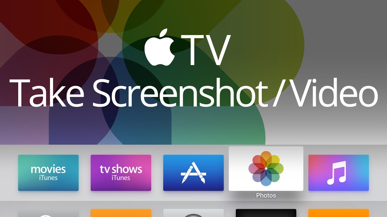 How to take a screenshot on the apple tv 4th generation youtube how to take a screenshot on the apple tv 4th generation ccuart Gallery