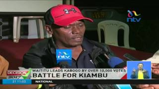 Kiambu Governor William Kabogo concedes defeat - FULL Video