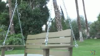 Cape Maye Weathered Porch Swing In Sagebrush Green - Product Review Video