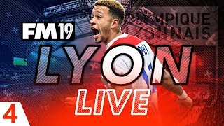 Football Manager 2019 | Lyon Live #04: First Match of the Season