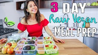 RAWVEGAN MEAL PREP FOR WEIGHTLOSS! 🌿Rawvana