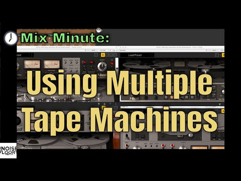 Mix Minute - Using Multiple Tape Machines from YouTube · Duration:  1 minutes 1 seconds