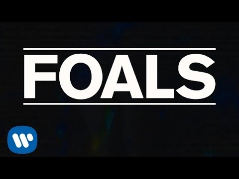 FOALS  - Night Swimmers [Lyric Video]