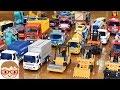はたらくくるま(働く車)のおもちゃ のりもの ブーブー 重機 ショベルカー,ユンボ,ミキサー車,レッカー車,ダンプ,ゴミ収集車,バックホー,