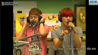 [Vietsub] 120731 BEAST @ KBS Hong Jinkyung Radio part 2