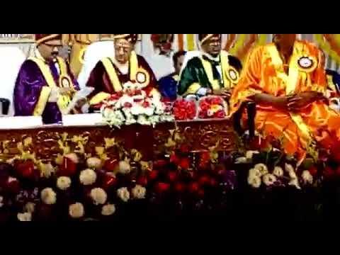 Mahamahopadyaya Title conferred on Sri. U. Ve. Mannargudi Rajagopalachariar- Vidyapetam Thirupathi