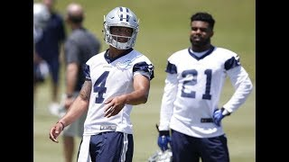 Zeke holding out? Dallas Cowboys most dissed team in the  NFL rant