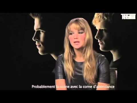 Hunger Games : interview Jennifer Lawrence VF streaming vf