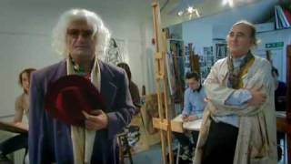 Face Jacker - Voyage into Art with Brian Badonde COMPLETE Ep2 - Art College nude lesson