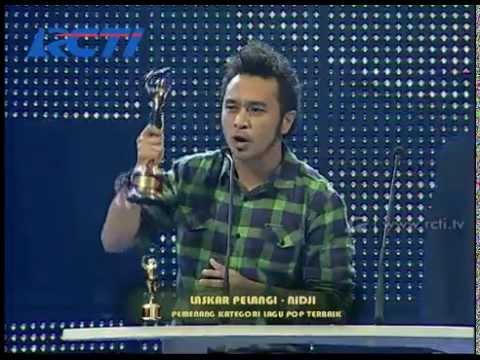 Nidji 'Laskar Pelangi' - Lagu Pop Terbaik - AMI 2009