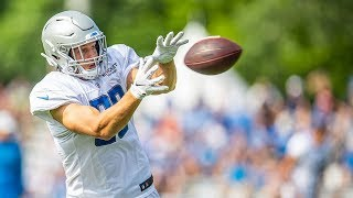 2019 Detroit Lions Training Camp | T.J. Hockenson Week 1 highlights