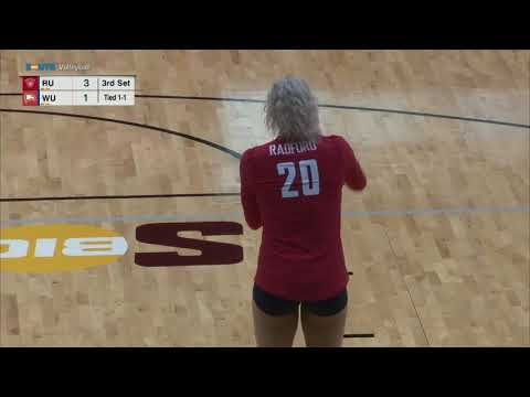 Winthrop Volleyball vs Radford Condensed Game
