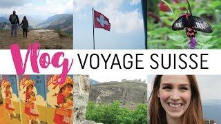 Vlog #1 - Vacances en Suisse ♥