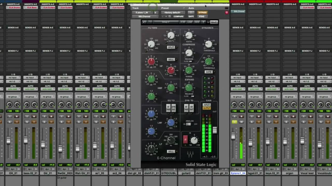 Adding Presence To Keyboards With Ssl E Channel Videos Waves